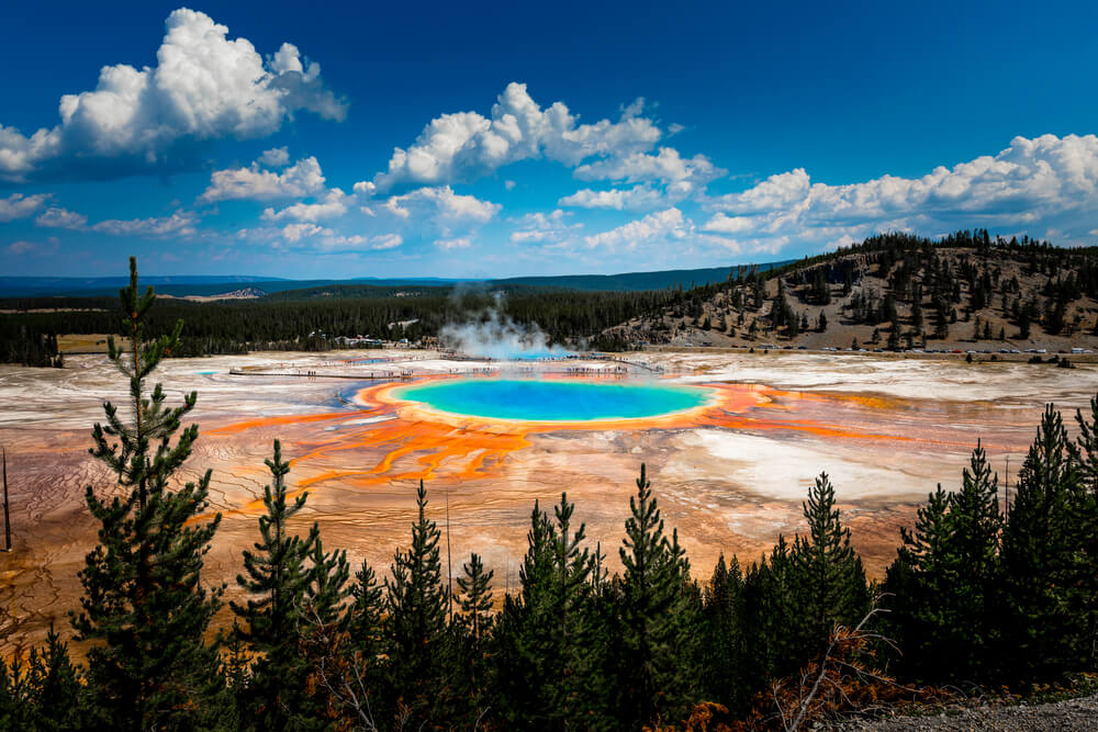 Parque Nacional de Yellowstone - Wyoming