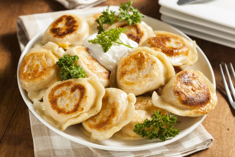 pierogi prato tradicional polaco