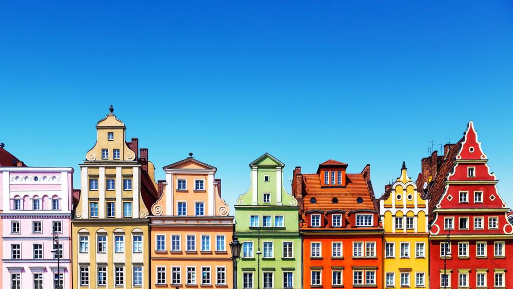casas tipicas de wroclaw