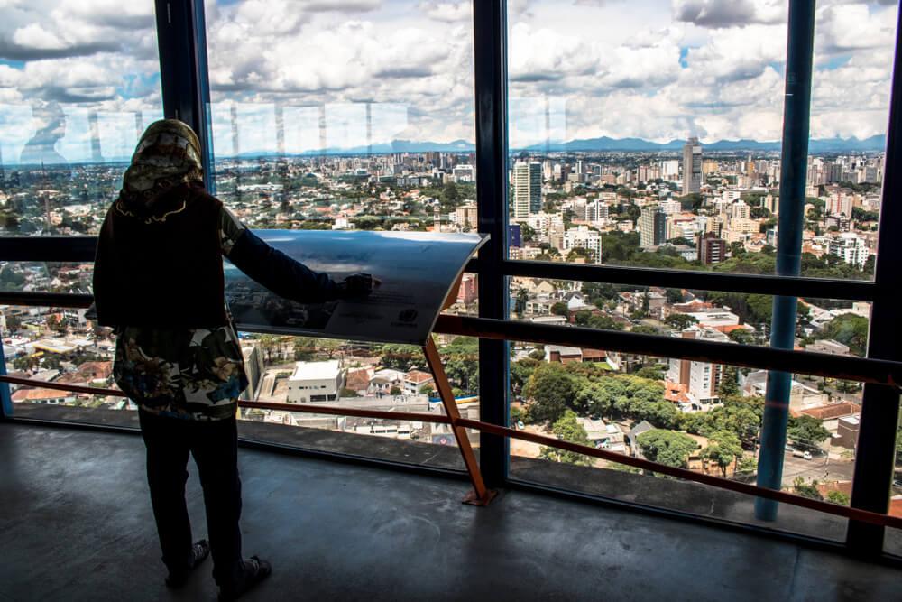 vistas de paris desde a torre de montparnasse