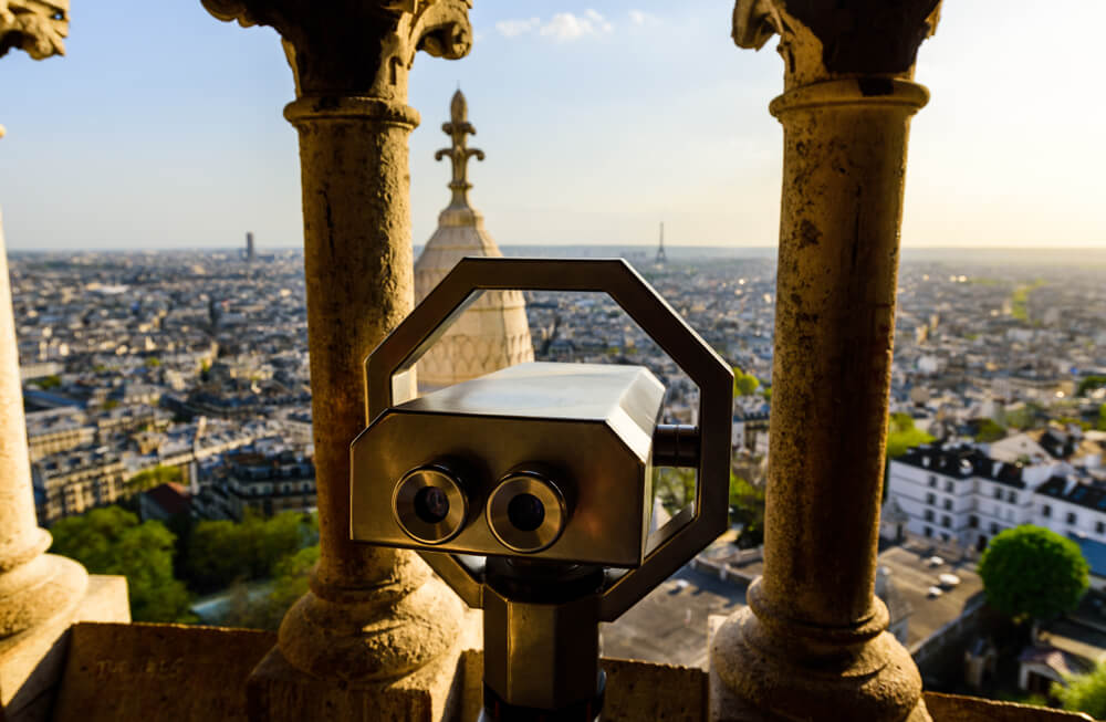 vistas de paris desde o sacre coeur