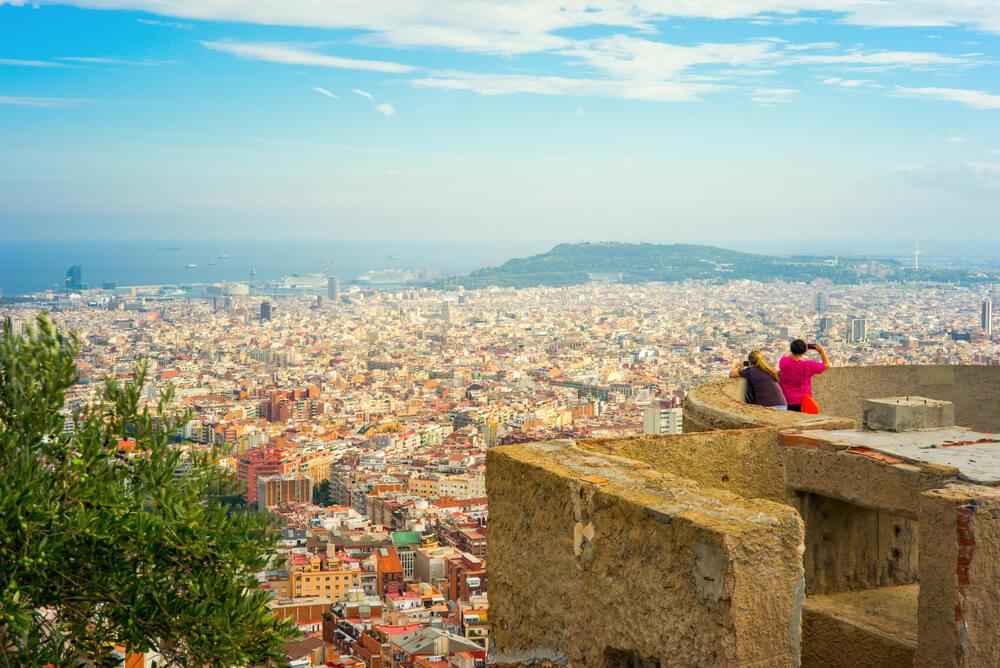 barcelona vista desd o bunkers del carmel