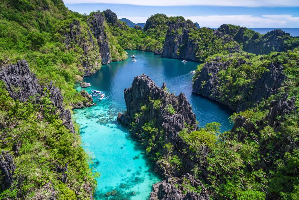ilhas tropicais das filipinas