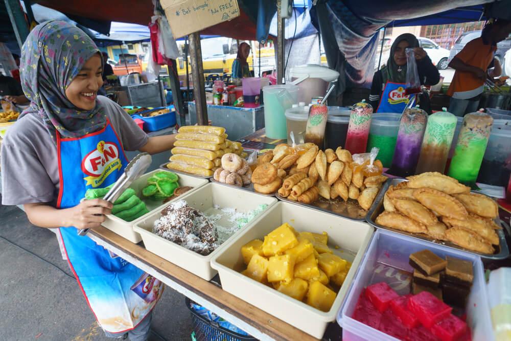 comida tipica de rua das filipinas