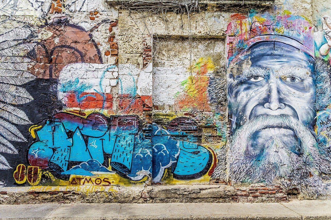grafittis em cartagena