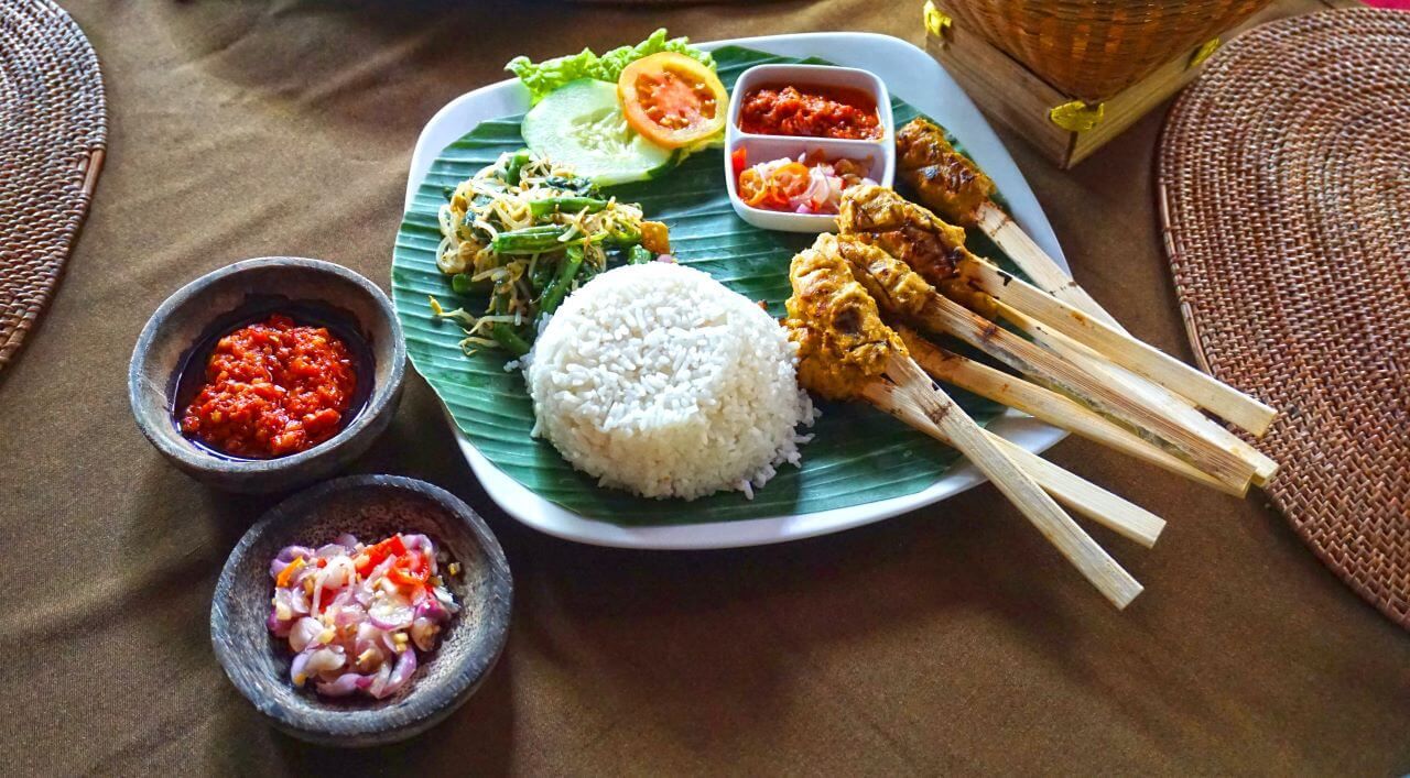 comida tradiconal balinesa