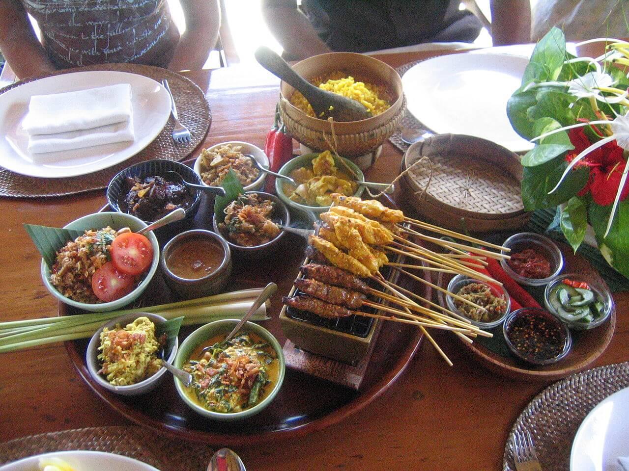 comida tipica balinesa