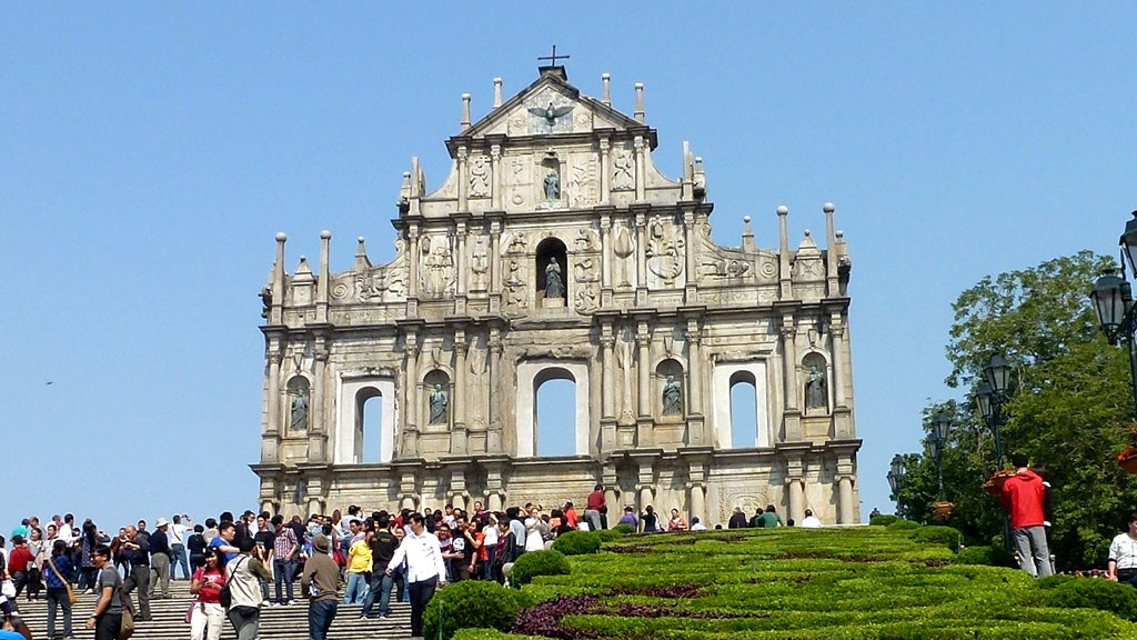 Ruínas de São Paulo Macau