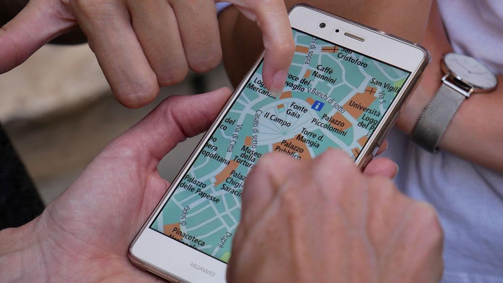 aplicações mapas viagem