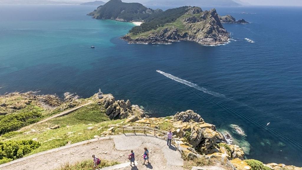 ilhas Cíes Vista Caminhada