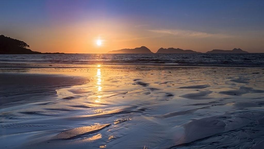 Pôr do Sol Ilhas Cíes