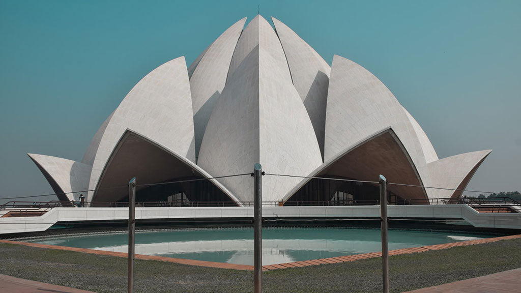 Templo de Lótus Nova Deli