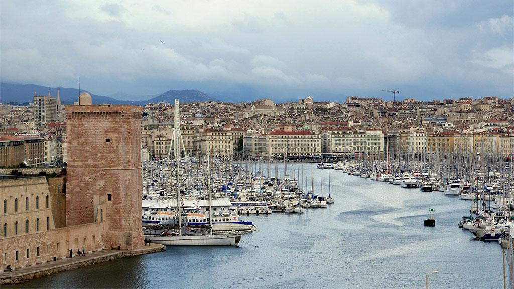 Porto antigo de Marselha