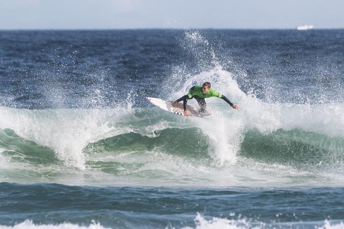 Surf em Pantín Corunha