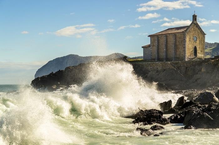 Praia de surf País Basco