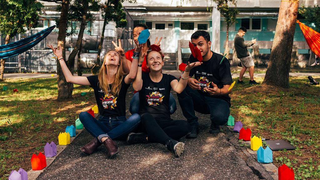 Jovens Voluntariado Europeu