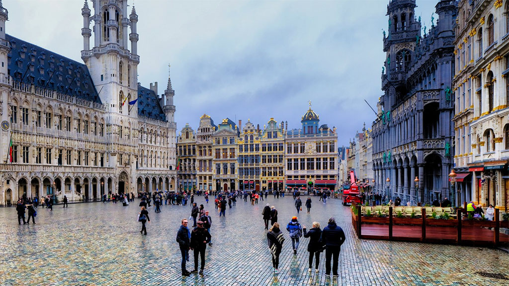Grand-Place praça de Bruxelas