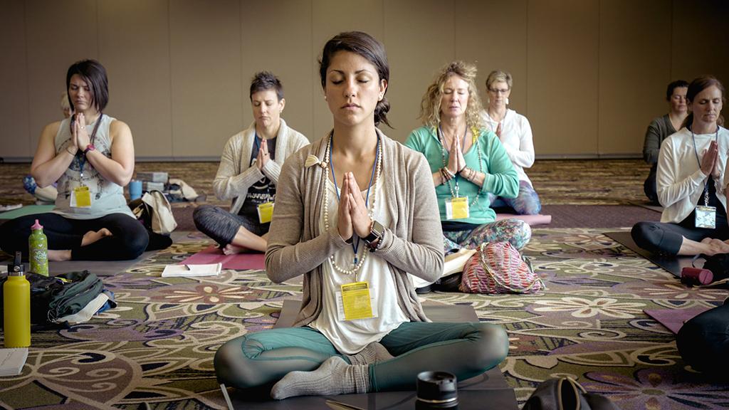 Retiro espiritual meditação