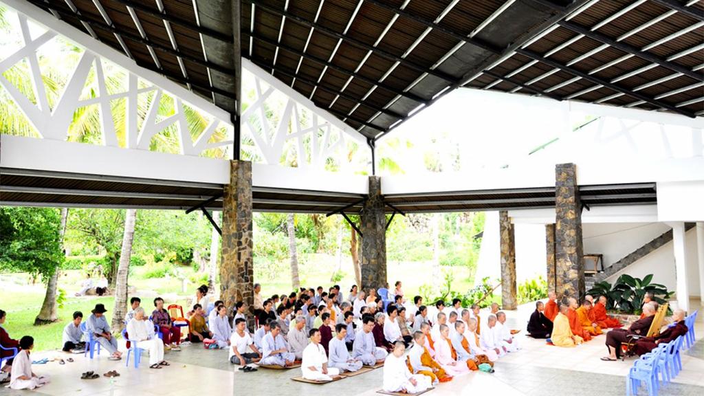 Vipassana meditação em grupo