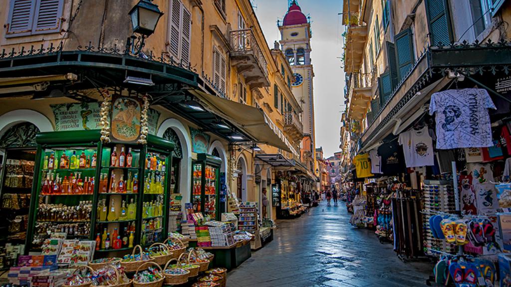 Grécia o que fazer Corfu