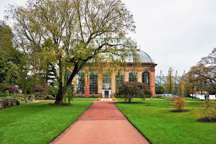 Jardim Botânico Edimburgo Escócia