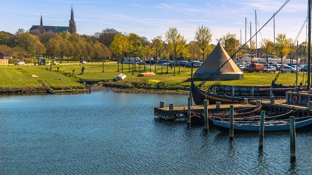 Cidade de Roskilde Museu Viking