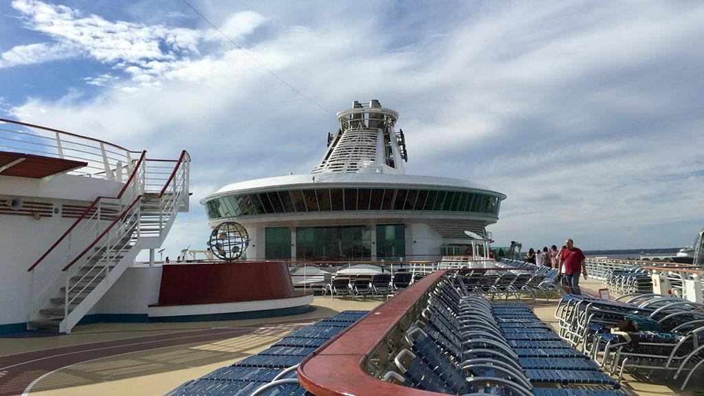 Navegar num navio cruzeiro