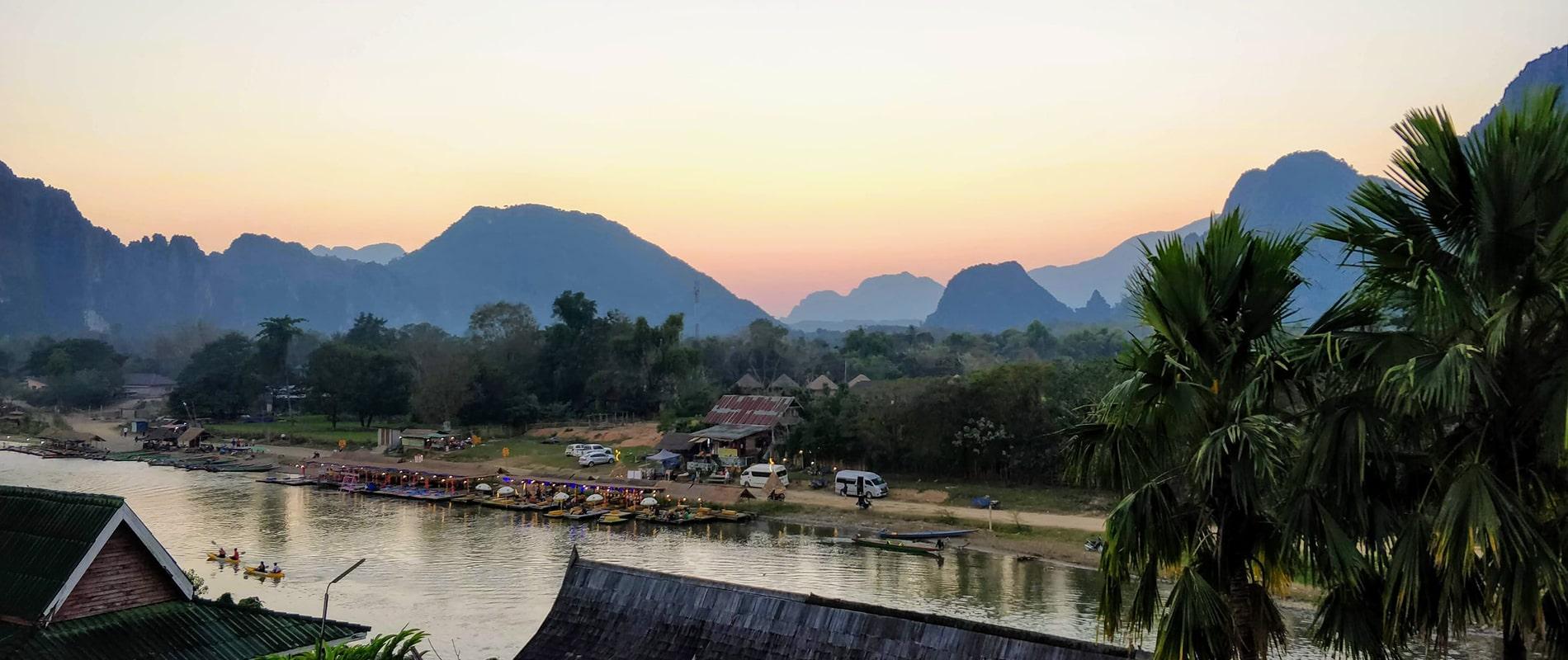 O que fazer em Vang Vieng