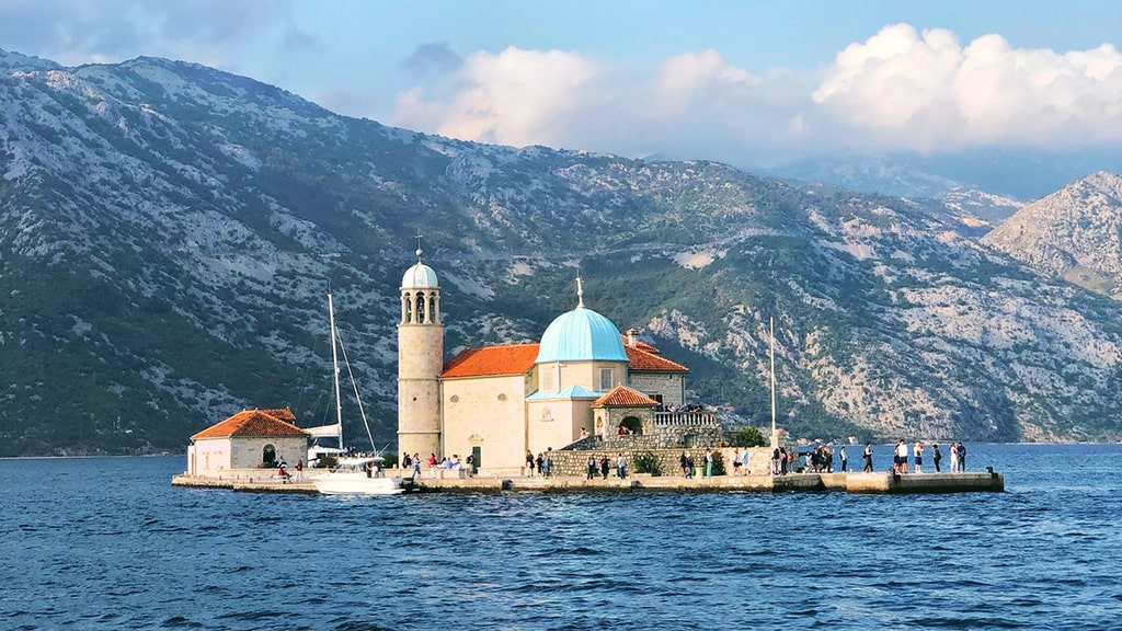 Perast Ilhas de Kotor Montenegro