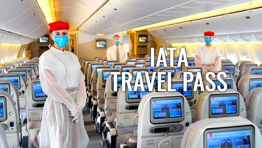 Aplicação Iata Travel Pass