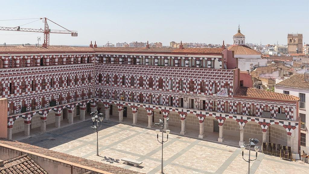 Praça Alta Plaza Badajoz Espanha