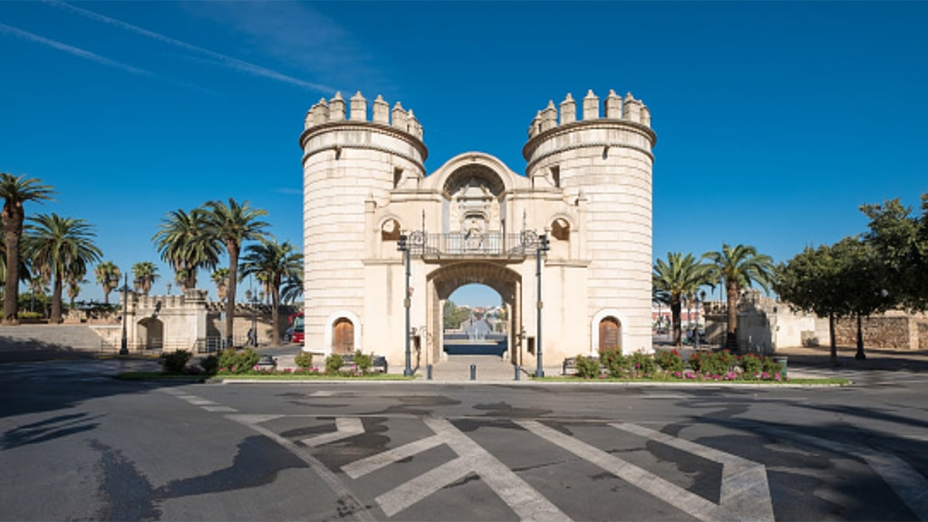 Puerta de Palmas monumento Badajoz