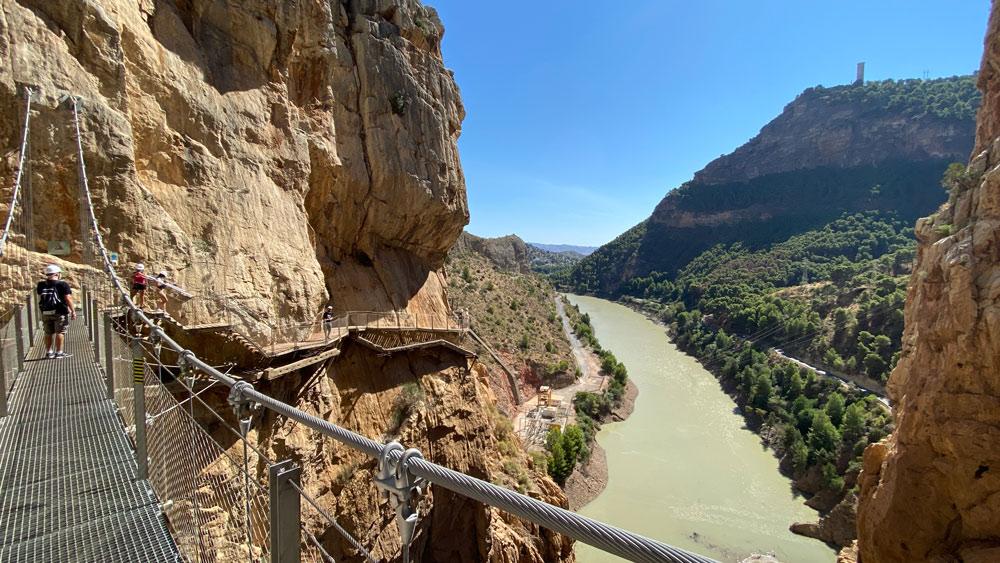 Passagens em Caminito Rey Espanha