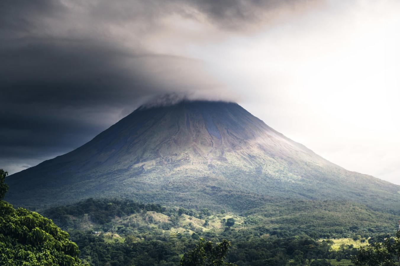 vulcão Costa Rica