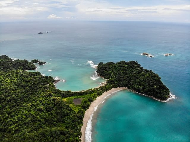 Playa Escondilla e Playa Manuel Antonio na costa rica