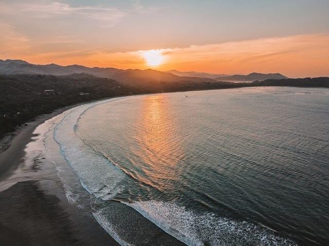 melhores praias na costa rica