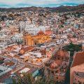 cidade de guanajuato vista aérea - é seguro viajar para o méxico?