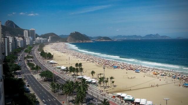 praia de copacabana, rio de janeiro - viagens seguras