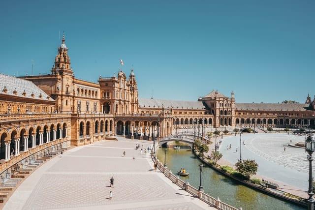plaza de espana em sevilha
