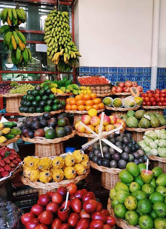mercados a visitar na ilha da madeira
