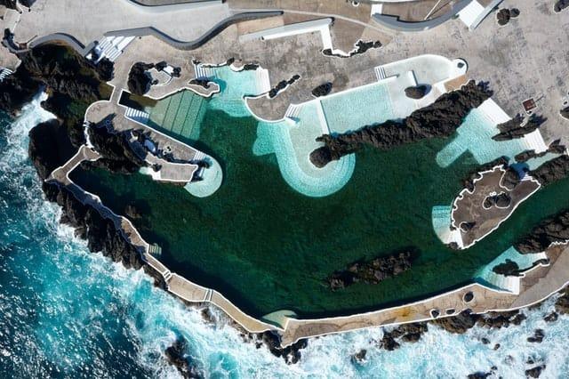 piscinas naturais madeira