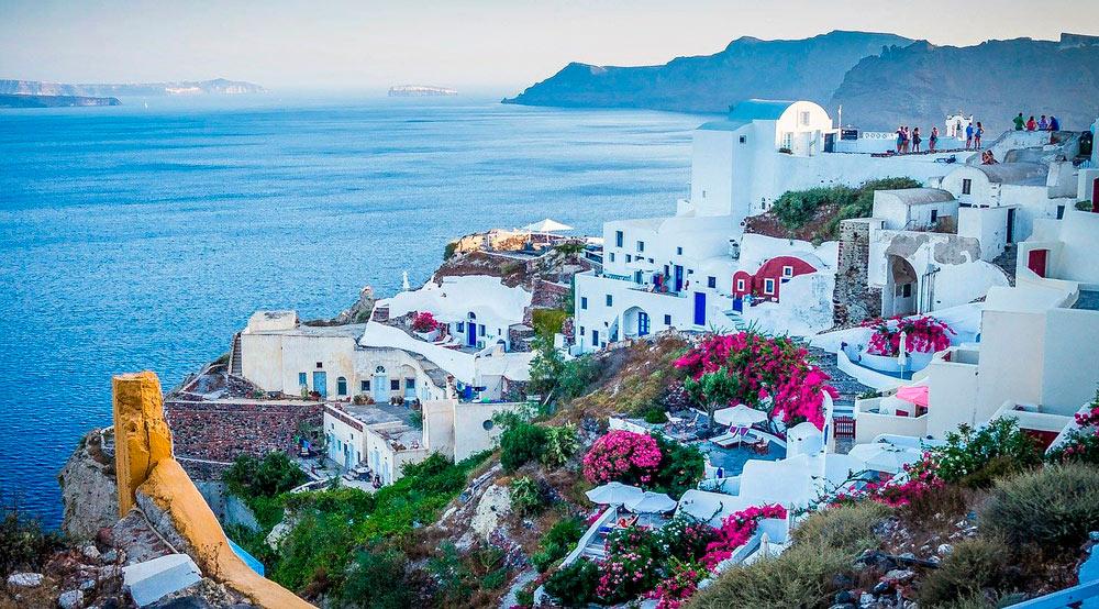 griechenland reisen europa santorin