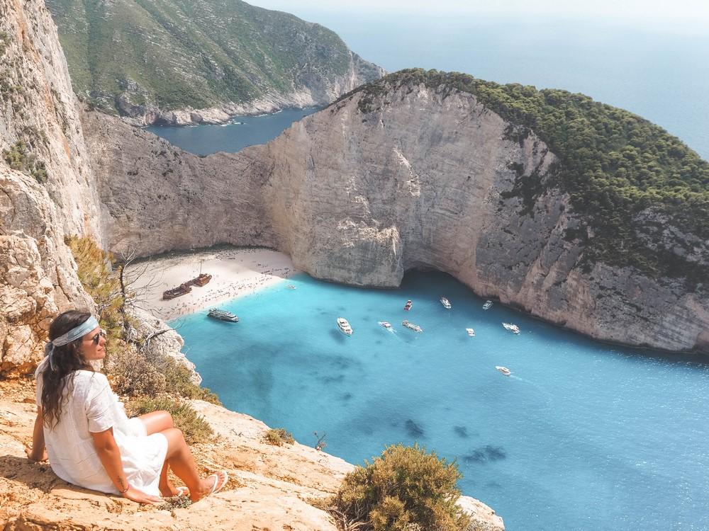 griechenland zakynthos strand bucht