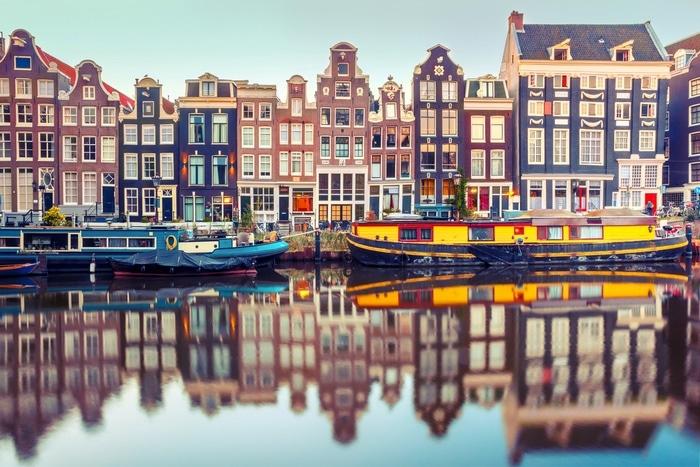 kurztrip amsterdam gracht niederlande