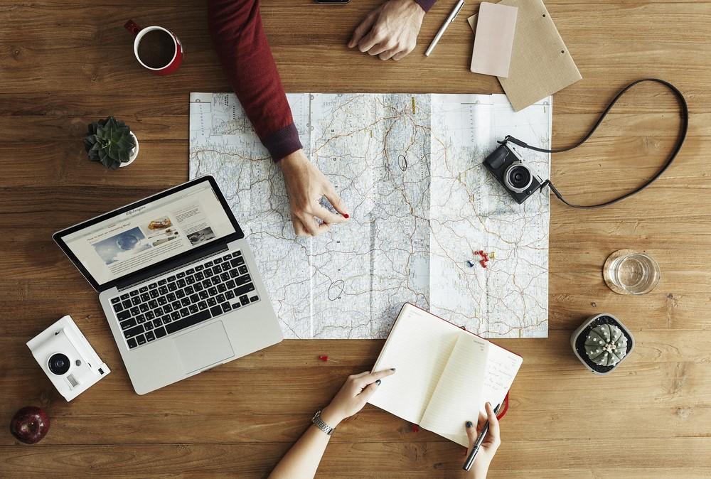 reisen reiseplanung tipps landkarte