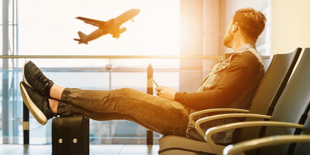 flughafen flugzeug fernweh reisen
