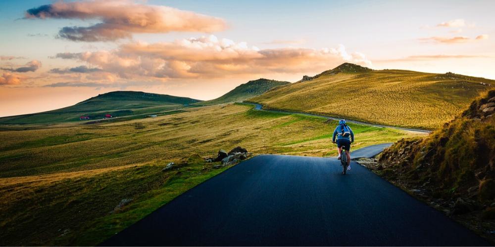 fahrrad natur reisen berge