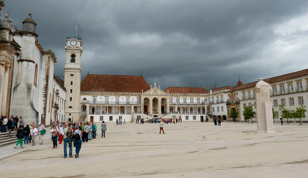 universitätsstadt coimbra portugal sehenswürdigkeiten