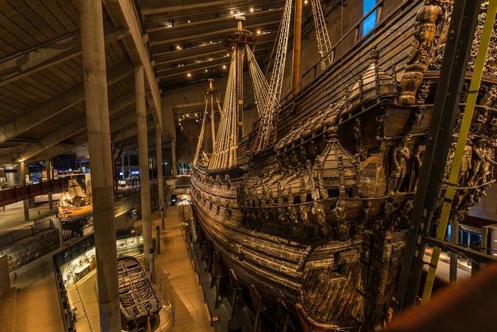 vasa museum stockholm schweden
