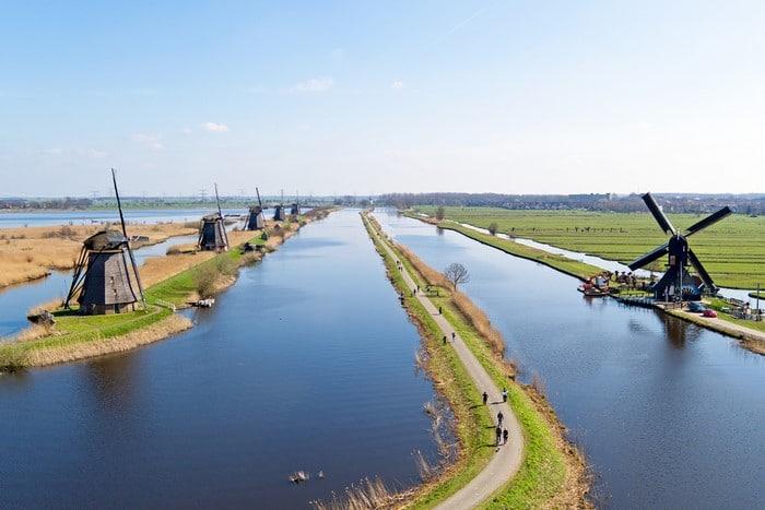kinderdijk windmühlen holland niederlande